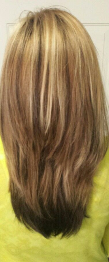 Multi Highlights And Lowlights My Style Pinterest Hair Style