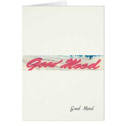 Good Mood Card  Holiday Card Diy Personalize Design Template Cyo