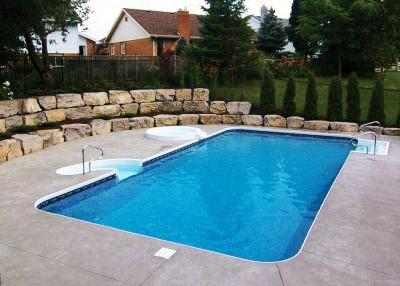 Rectangle Inground Pool Style Bahama Swimming Pool Kits Backyard Pool Swimming Pools Inground