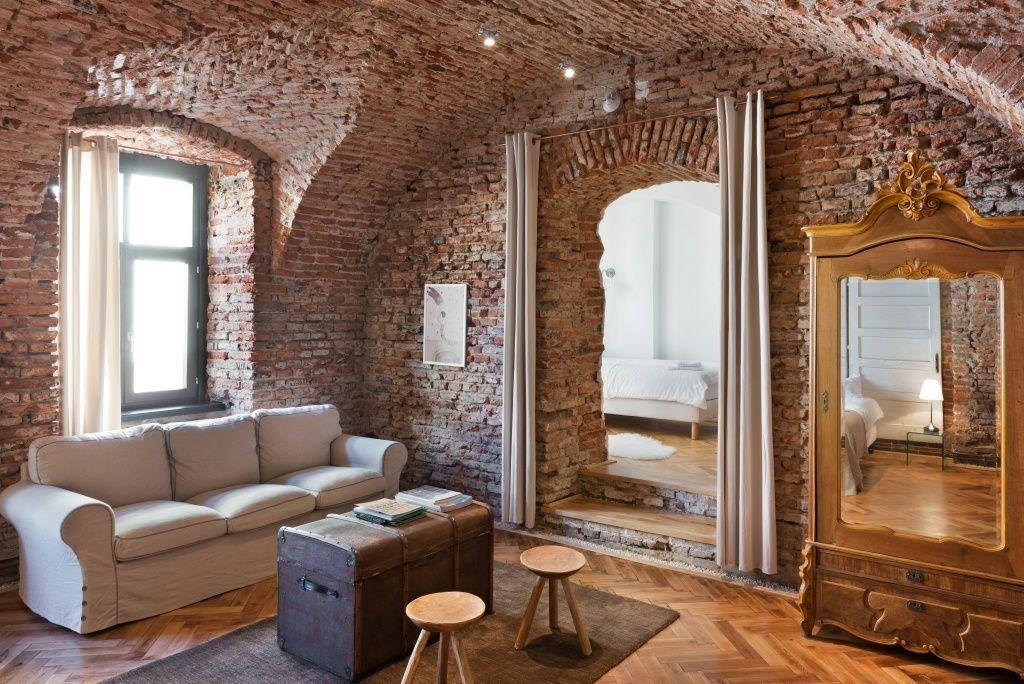 Blog de decoraciÓn my leitmotiv living rooms & brick walls