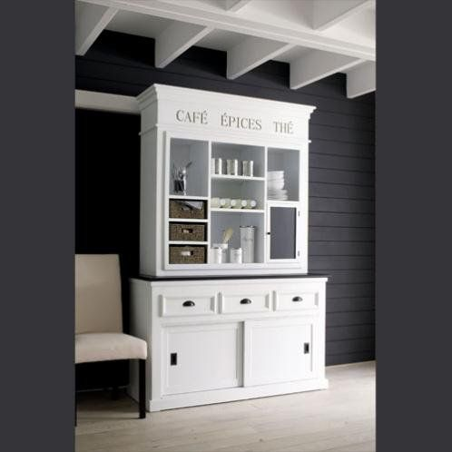 credenza comptoir des pices shabby chic living. Black Bedroom Furniture Sets. Home Design Ideas
