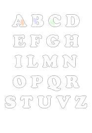 Risultato immagini per lettere alfabeto da ritagliare