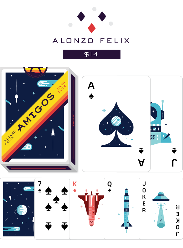 Amigos Playing Cards by Fictive Kin — Kickstarter