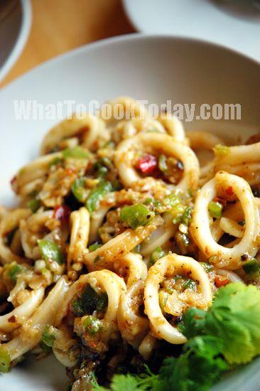 Azie Kitchen Masak Sotong Berkicap Pedas Memasak Resep Seafood Makanan Dan Minuman