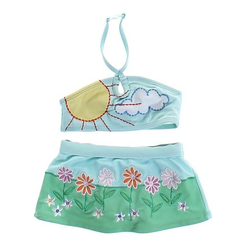 Two-Piece Scenic Swimsuit