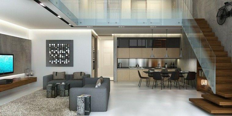Departamentos modernos por dentro buscar con google renders hotel pinterest for Interiores de departamentos modernos