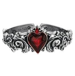 Alchemy Gothic Red Vampire Blood Heart Romance Bracelet