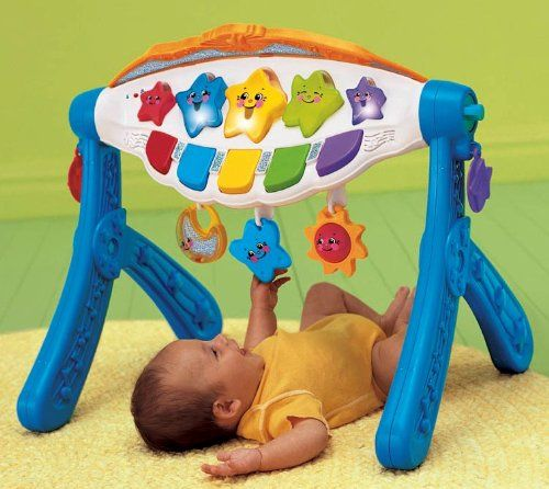 Velsete FISHER PRICE SINGING STAR GYM: Baby | Bubs childhood toys | Baby MH-35