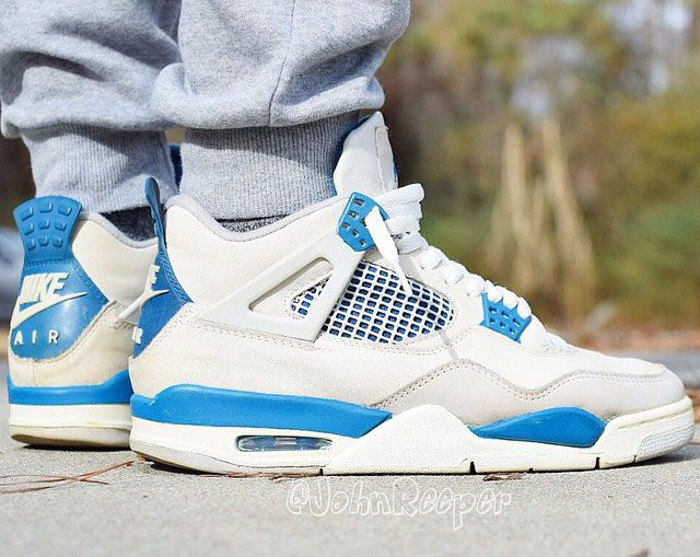 new product 76633 19f47 Air Jordan 4 Military Blue 2019 Release Date | Shoes | Air ...