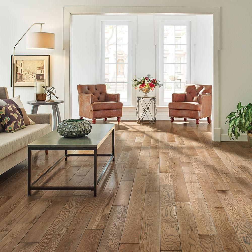 Bruce Revolutionary Rustics White Oak Subdued Gray 3 4 In T X 5 In W X Varying L Solid Hardwood Flooring 23 5 Sq Ft Case Sakhd59l4hgw The Home Depot Solid Hardwood Floors Hardwood Floors