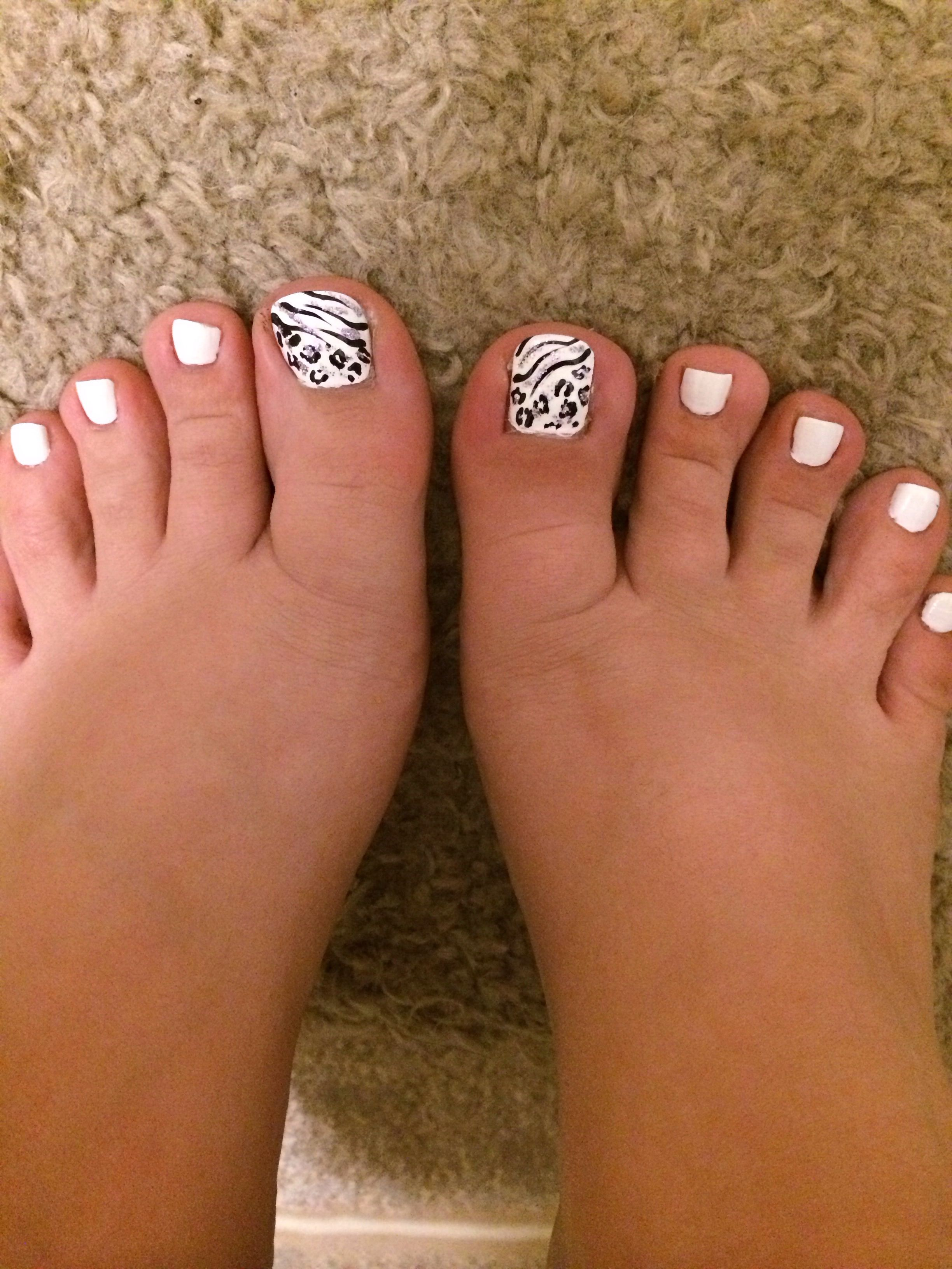 Pedicure Leopard Zebra Animal Print Love Pedicure Designs Toe Nail Designs Pedicure Colors