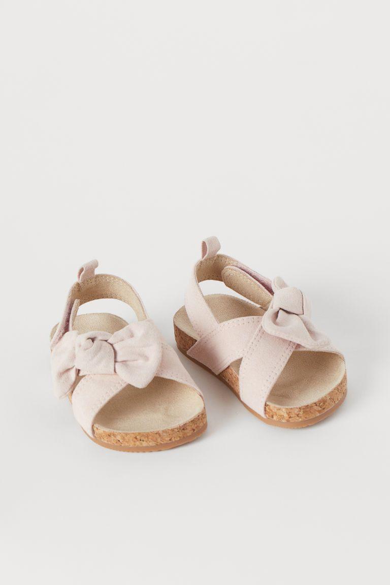 Sandals - Powder pink - Kids | H\u0026M US