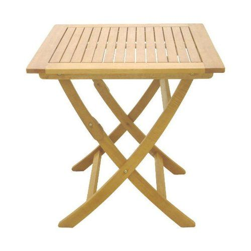 klapptisch balkontisch balkon m bel gartenm bel hartholz tisch 60 x 60 cm garten sedex. Black Bedroom Furniture Sets. Home Design Ideas