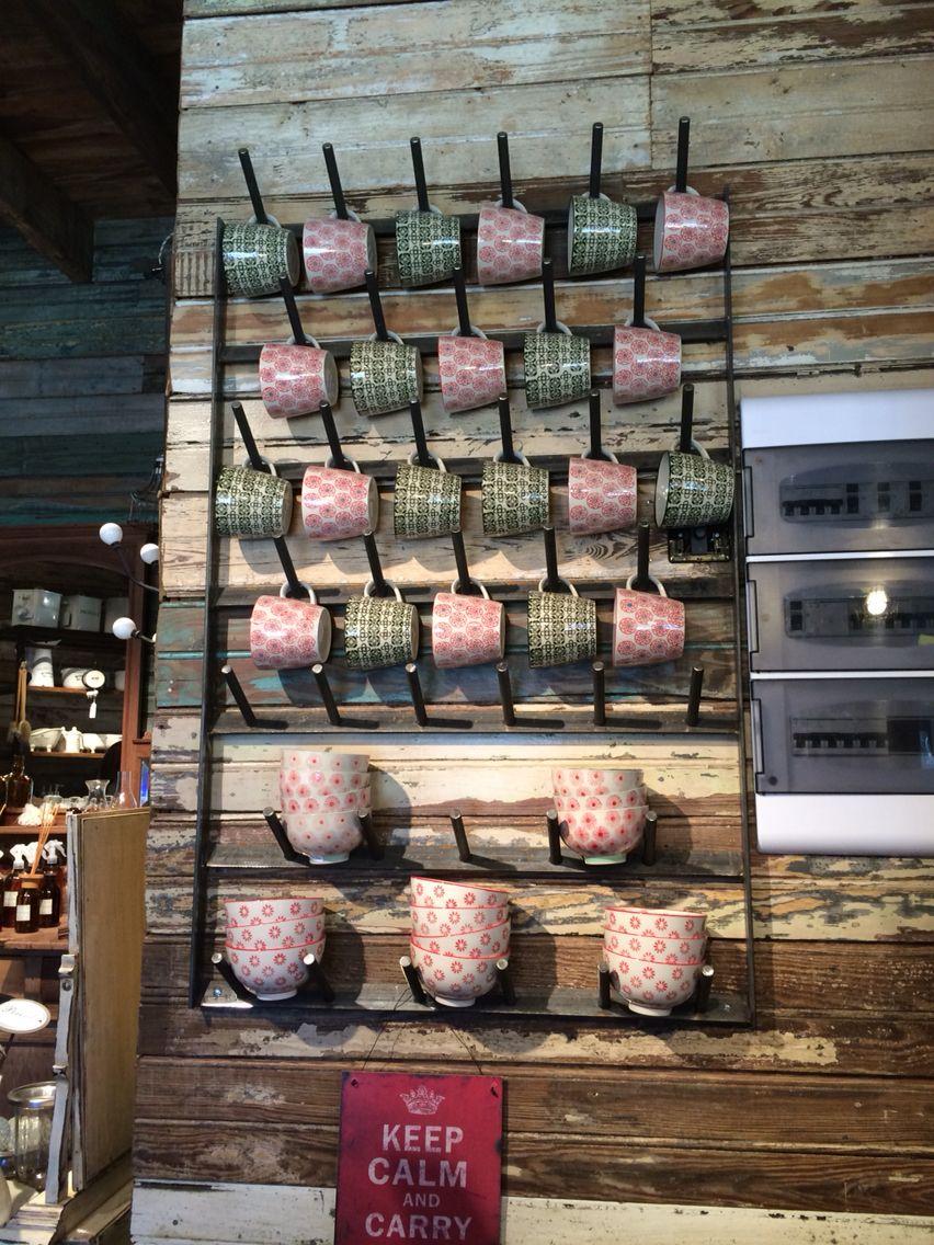 Buenísima idea para organizar los tazones #mug