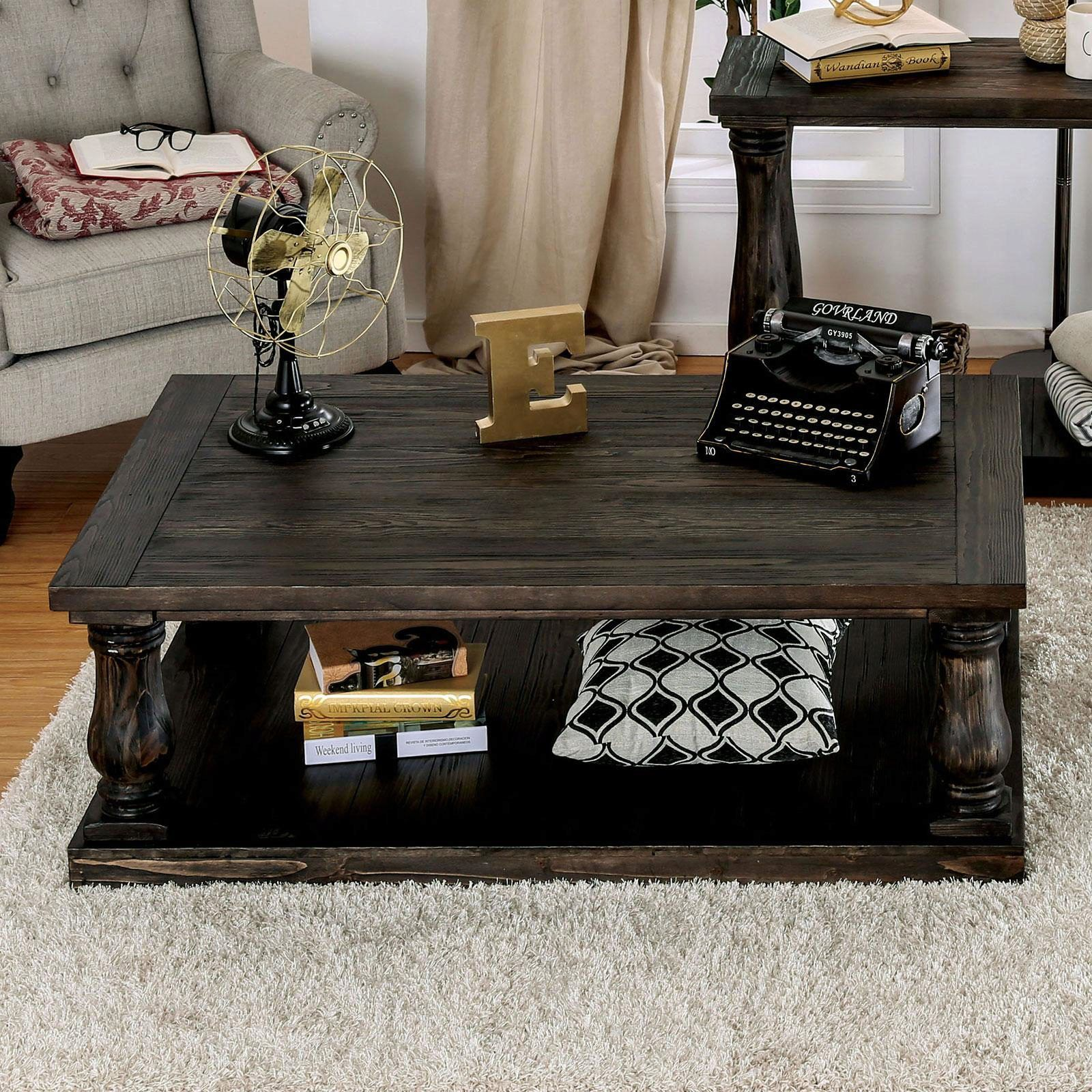 Transitional Coffee Table W Wood Top In Walnut Keira By Furniture Of America Cm4455c Table Coffee Table Wood Coffee Table 3 Piece Coffee Table Set [ 1600 x 1600 Pixel ]