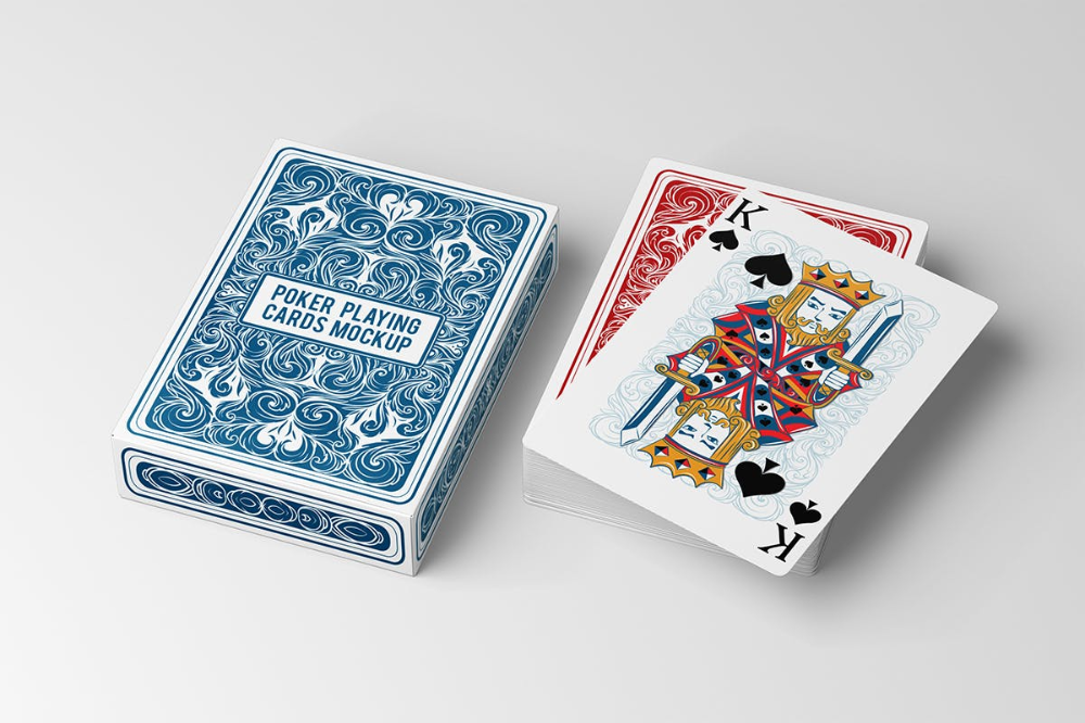 Poker Playing Cards Mockup Free Design Resources Playing Cards Design Playing Card Deck Free Design Resources