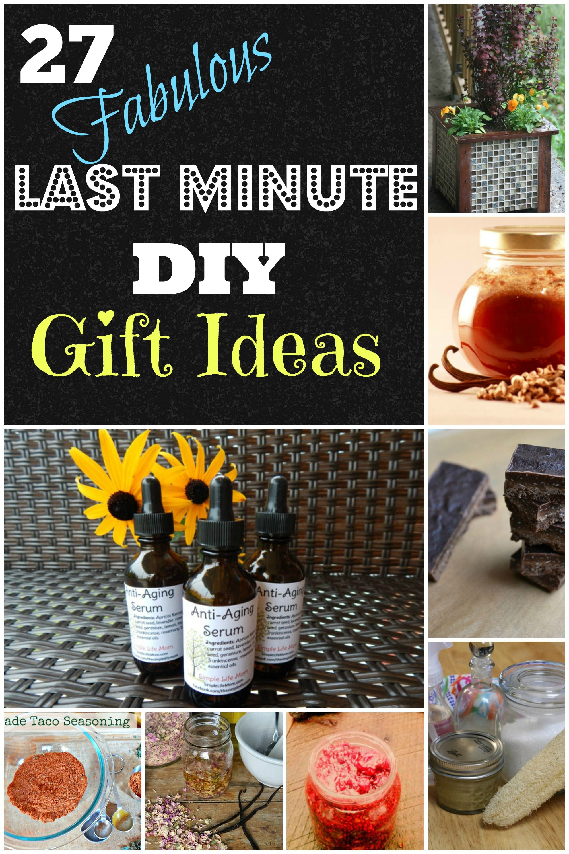 27 last minute diy gift ideas last minute birthday gifts