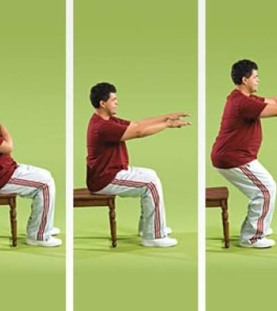 simple chair exercises for seniors 10 seated chair