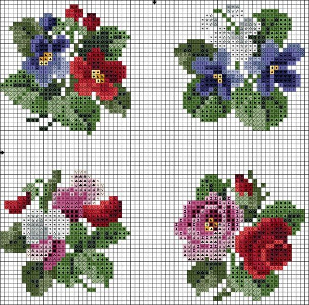 схемы вышивки жанны стрибукs Photos Bordado Cross Stitch