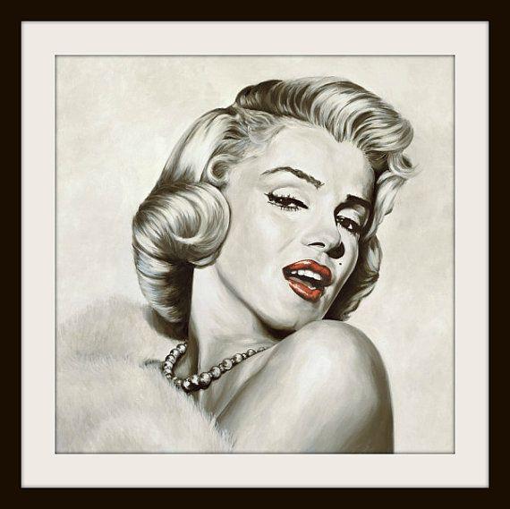 Marilyn Monroe Cross Stitch Pattern Cross by LosAngelesNeedlework, $4.47