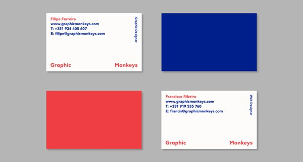 Graphic monkeys business cards by filipe ferreira c a r d s graphic monkeys business cards by filipe ferreira reheart Choice Image