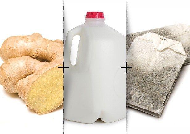 Bikini Body Drink (from Oxygen).  I like it w/ unsweetened vanilla almond milk.  If you like Chai, try this.