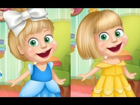 كرتون ماشا والدب ماشا اميرة ديزني العاب تلبيس ماشا والدب للاطفال كاملة Aurora Sleeping Beauty Cartoon Disney Princess