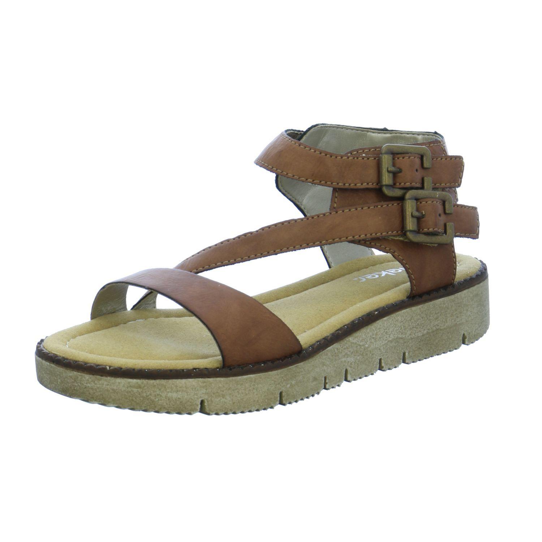 Unisex Damen Herren Madchen Sandalen Von Rieker Blau Braun Grau Schwarz 4020933224560 Mode Ootd Outfit Fashi Madchen Schuhe Damen Sandalen