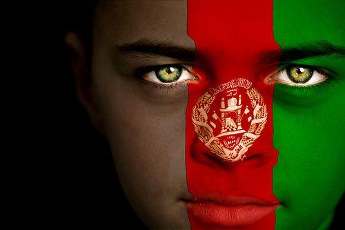Afghan Boy In 2020 Afghanistan Flag Flag Face Flag Painting