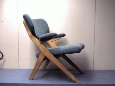 Ilmari Lappalainen; 'Bambino' chair for Asko, 1955.