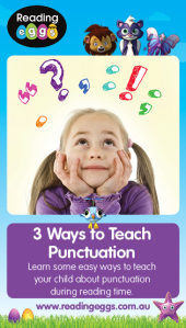 Punctuation can be one of the trickiest parts of learning to read. Find out how you can teach your child about punctuation while reading together.