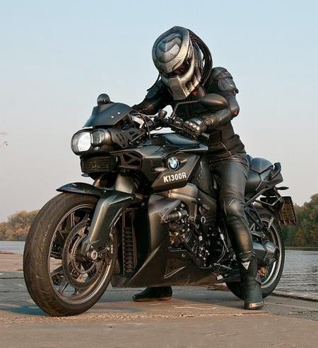 Predator Helmet With Bmw K1300r Manolo Cruz Motorcycle