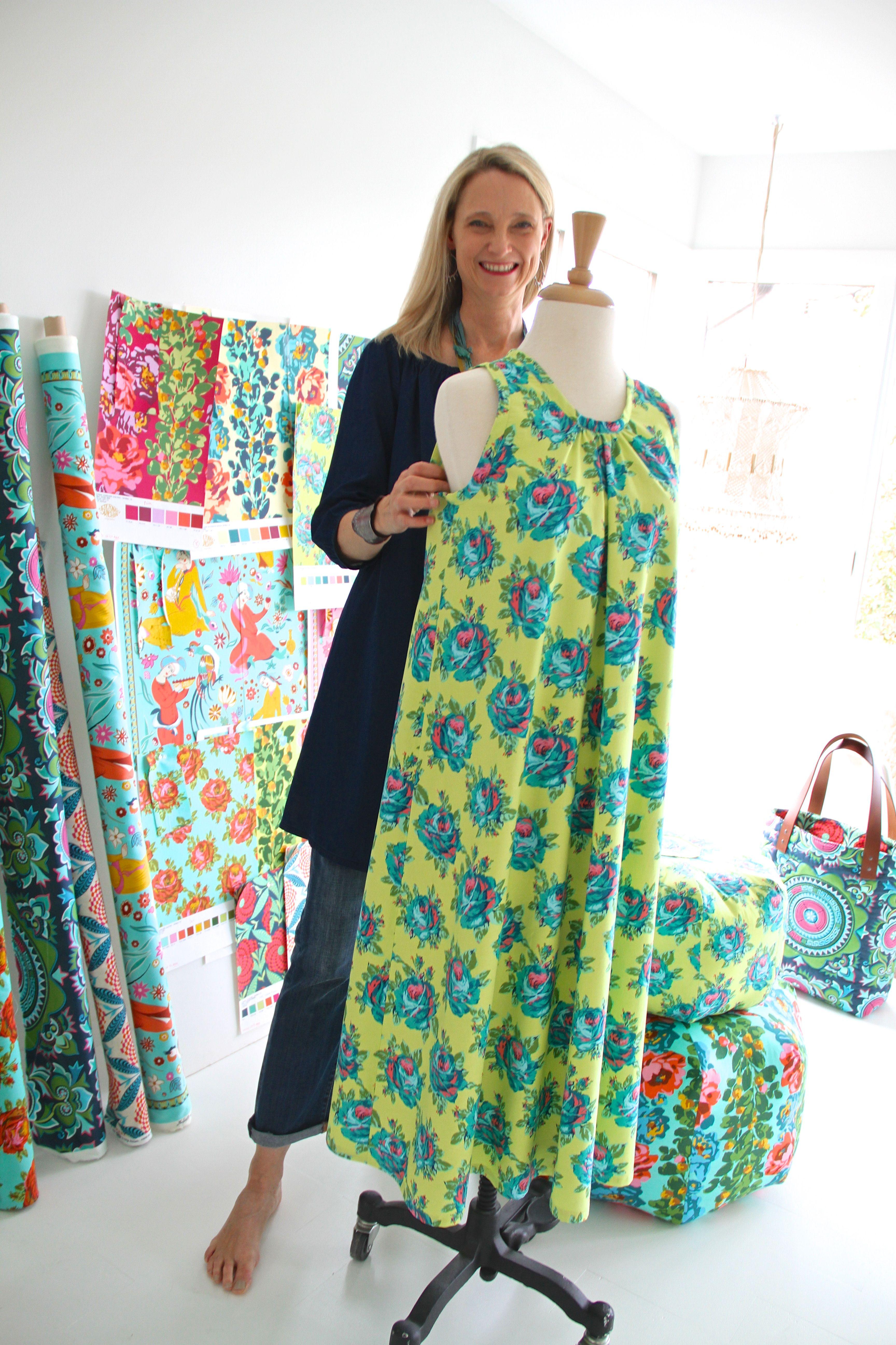 The Kiomi Dress By Lotta Jansdotter In My Eternal Sunshine
