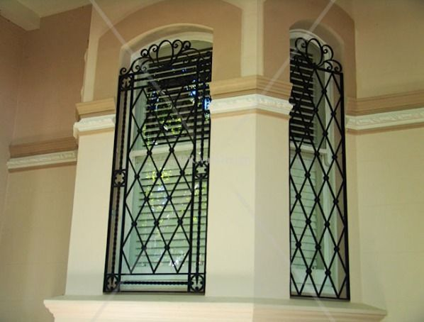 window home grill design - Home Windows Design