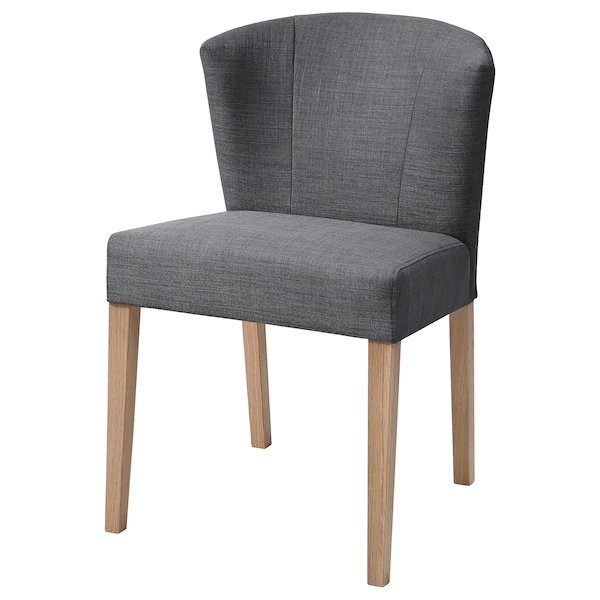 Karlerik Stuhl Eiche Skiftebo Dunkelgrau Ikea Deutschland In 2020 Stuhl Eiche Bequeme Stuhle Vintage Esszimmerstuhle