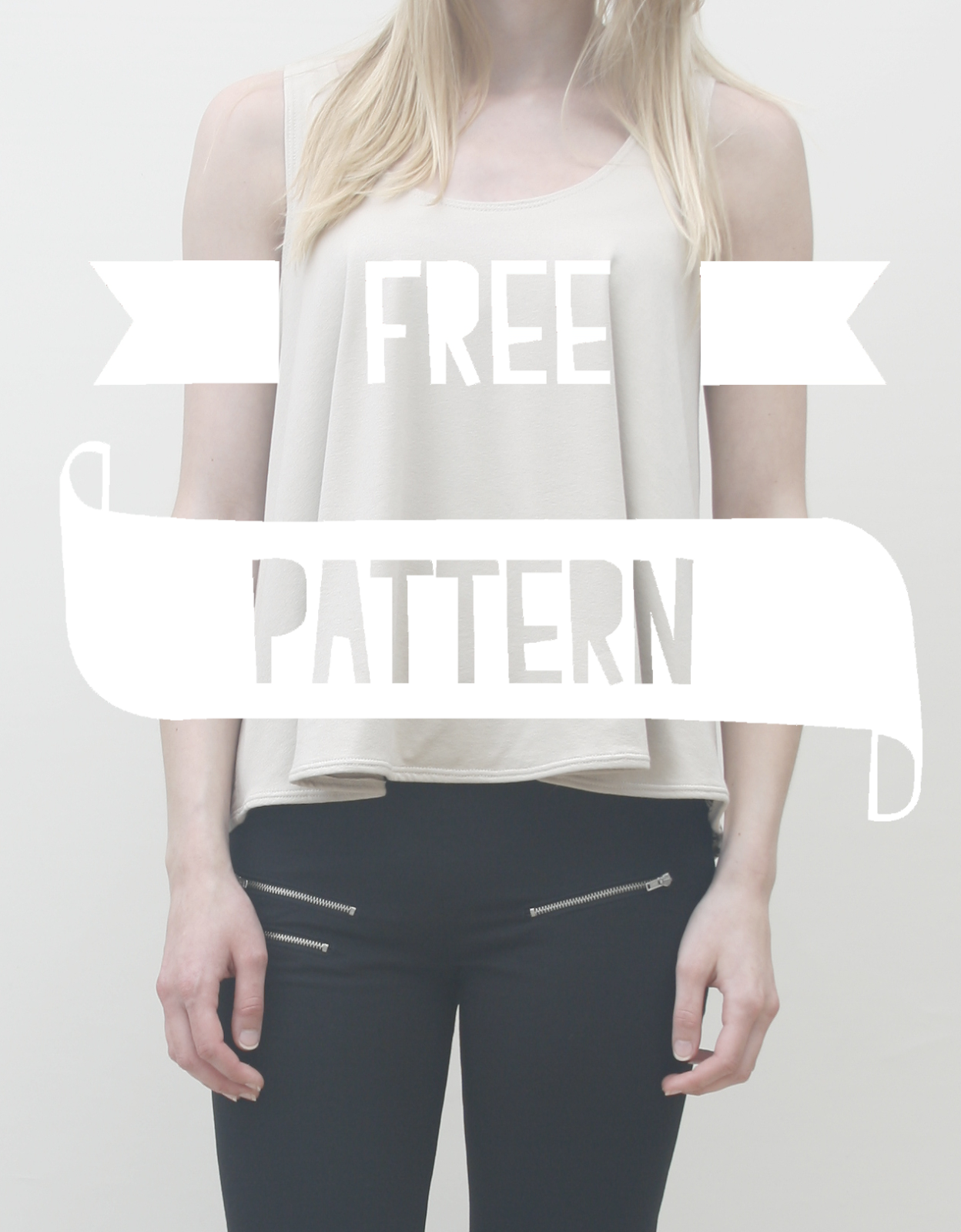 LOOSE TOP // Free pattern | Sewing | Pinterest | Maquina coser ...