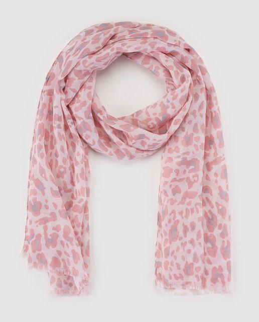Fular de niña Freestyle rosa con print  c73e56cd69d