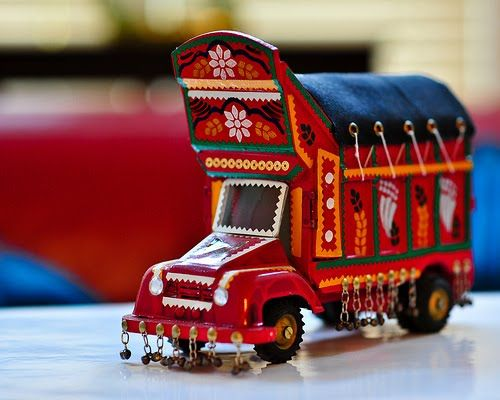 Seven Thingz Art Craft On Truk And Vespa Truck Art