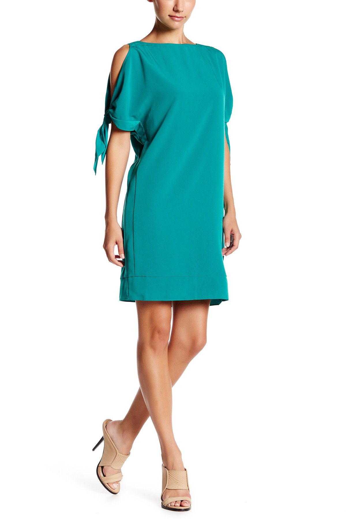 Tie Sleeve Shift Dress   Nordstrom, Wedding guest dresses and Fashion