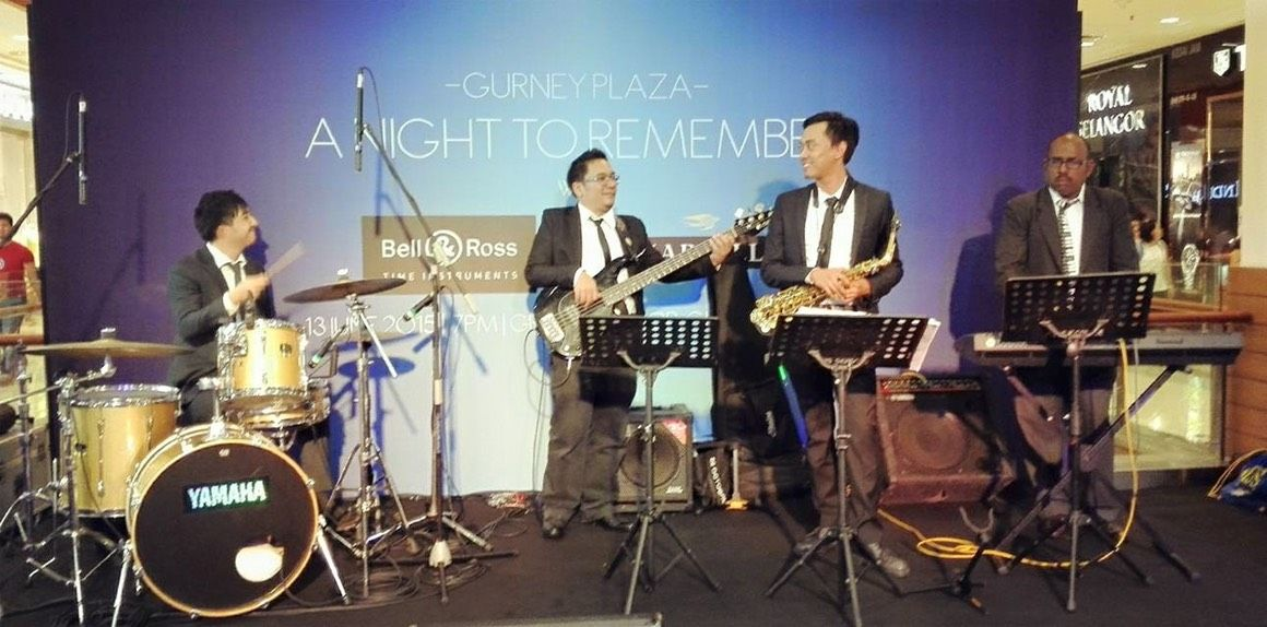 Instrumental band WEDDING in CHARLIE Jazz band