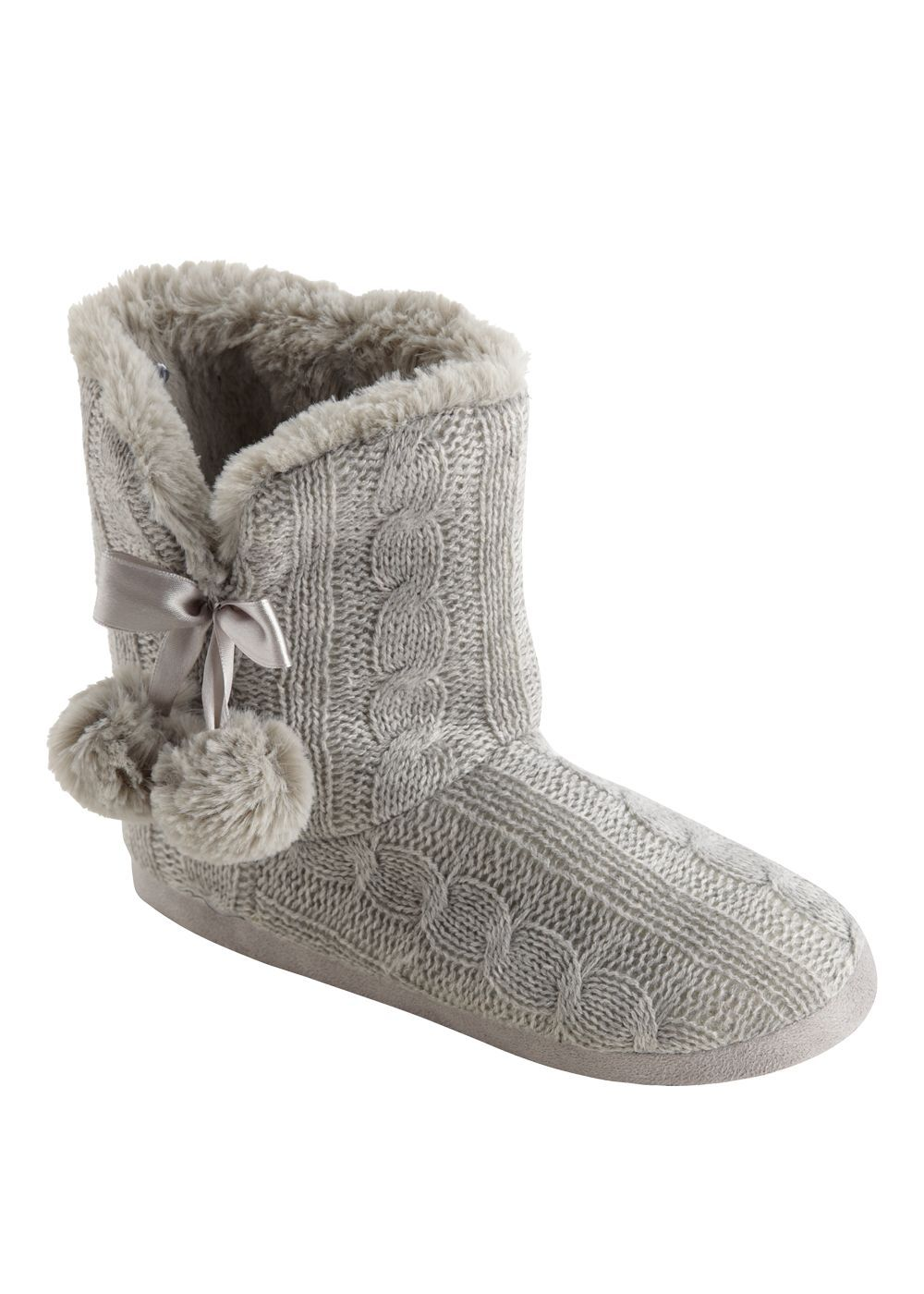 Inspire Me Shoess Pinterest Slipper Boots Cable Knitting And