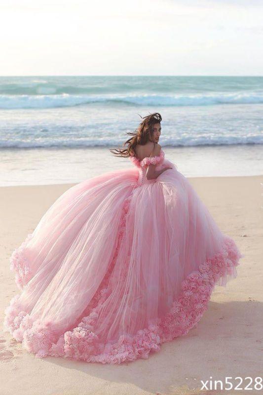 Vestido de baile Vestidos para Boda Princesa Cenicienta Novia ...