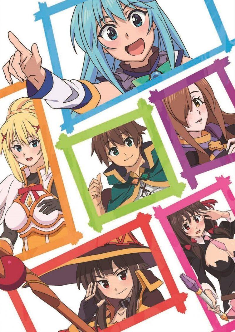 Konosuba Film Announced Anime 2 0 Anime Anime Films Wonders