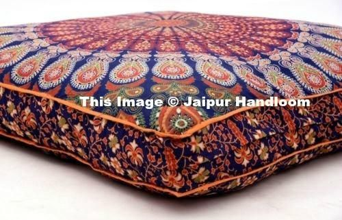 35 Square Mandala Tapestry Floor Pillows Summer Cushion Covers