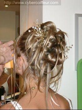 Ou Puis Je Trouver Ces Perles Pour Mon Chignon Coiffure Mariage