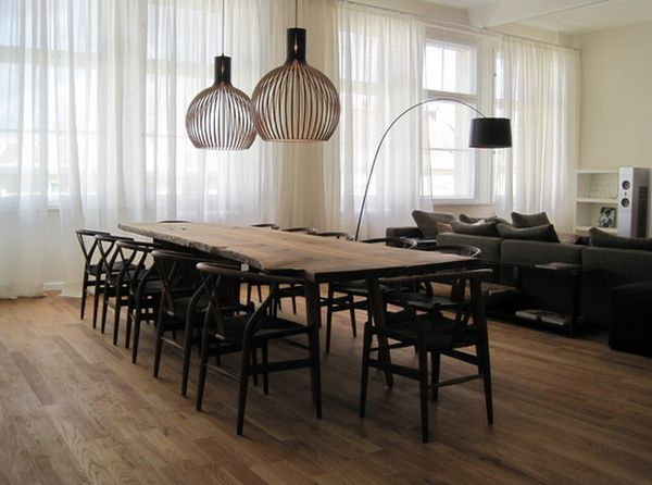 Pairing Raw Beauty With Sleek Designs Through Live Edge Tables