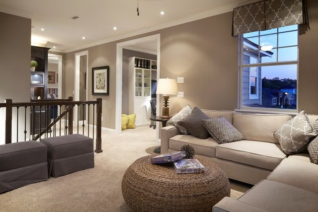 Upstairs Foyer Ideas : Mattamy in greenleaf village this upstairs foyer is perfect for