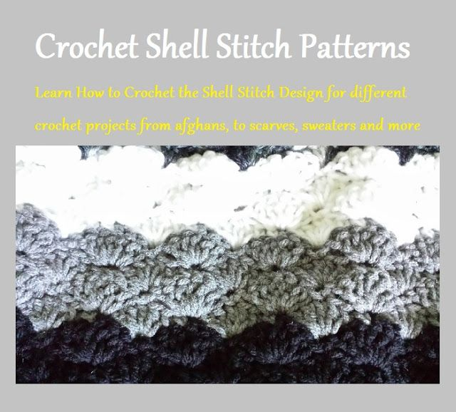 Crochet Shell Stitch Patterns Learn the Many Different Ways to ...