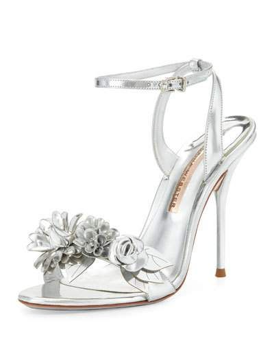 dca051645 X3BW3 Sophia Webster Lilico Floral Leather 105mm Sandal