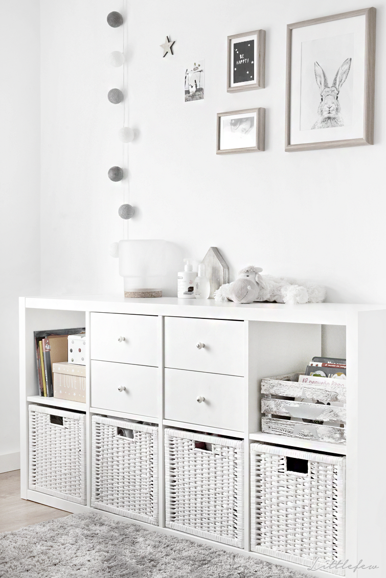 Littlefew blog how we have transformed our babyroom to a girl s roo nordic inspiration - Decoracion habitacion bebe ikea ...